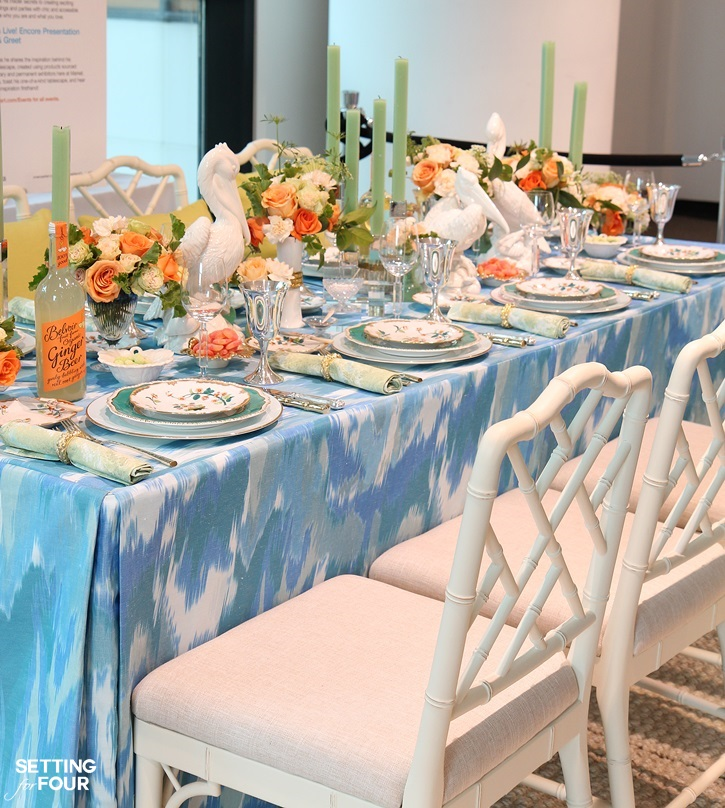How To Set A Table And Table Setting Decor Tips From Design Expert Eddie Ross