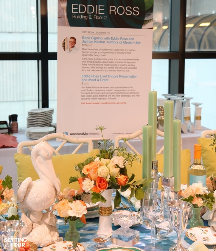 Table Decor And Centerpiece Ideas From Design Expert Eddie Ross Great Decor Tips For Dinner