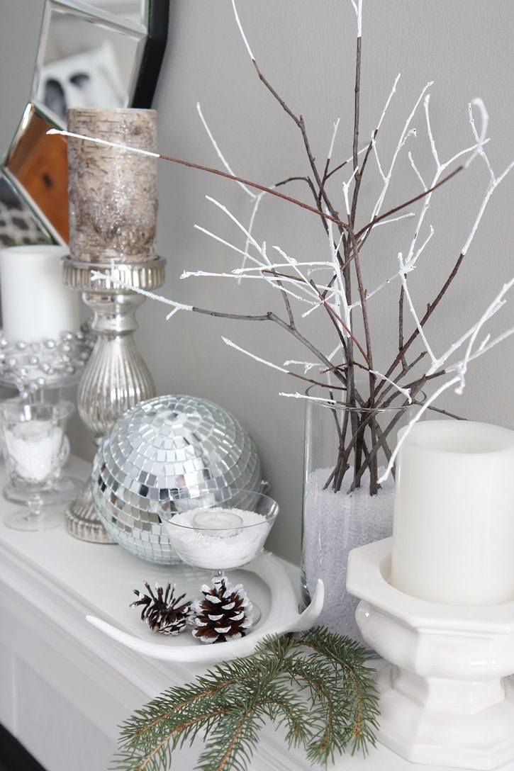 Decorating Ideas For Small Bathrooms In Apartments: Winter Mantel Decorating Ideas