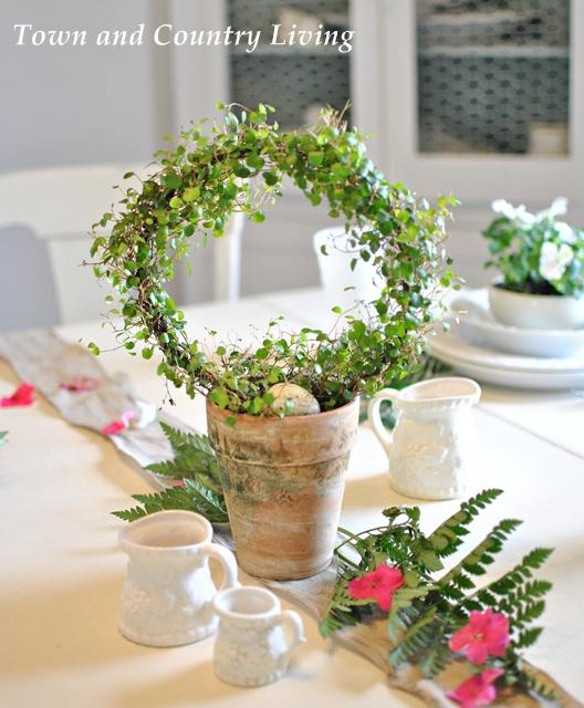 DIY Moss Covered Pot