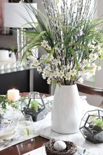 See this beautiful, natural table setting for Spring at Setting for Four.