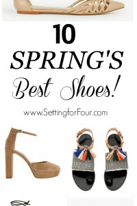 See the NEWEST Styles and chicest looks: Spring's Best Shoes!