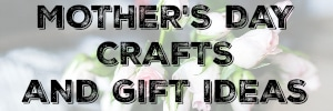 See tons of inspirational Mothers Day Crafts and Gift Ideas! www.settingforfour.com