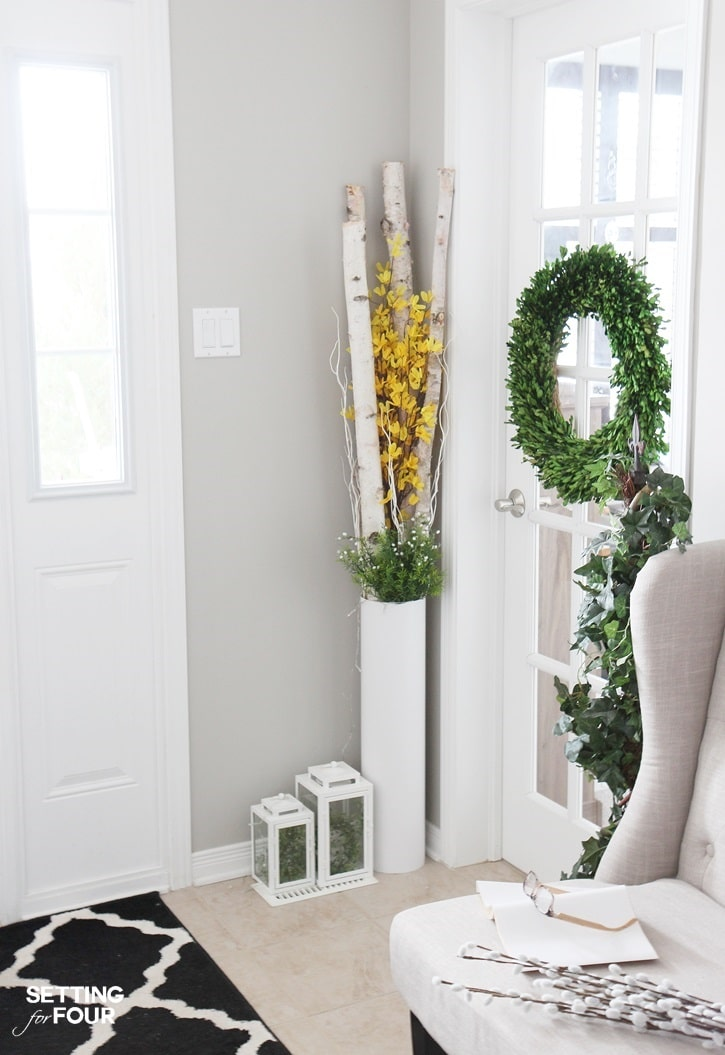 Spring Foyer Decor Tips: Are You Craving A Cheery Springtime Feeling For  Your Home Right