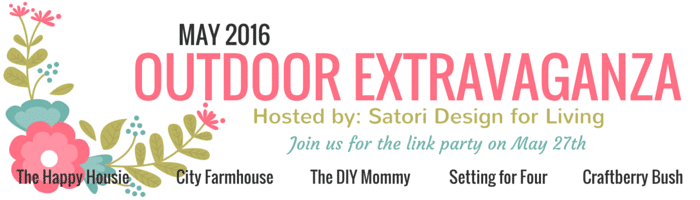 Come visit all the inspiration in the Outdoor extravaganza party - see lots of DIY projects, decor ideas, entertaining tips and build projects for your home outdoors!