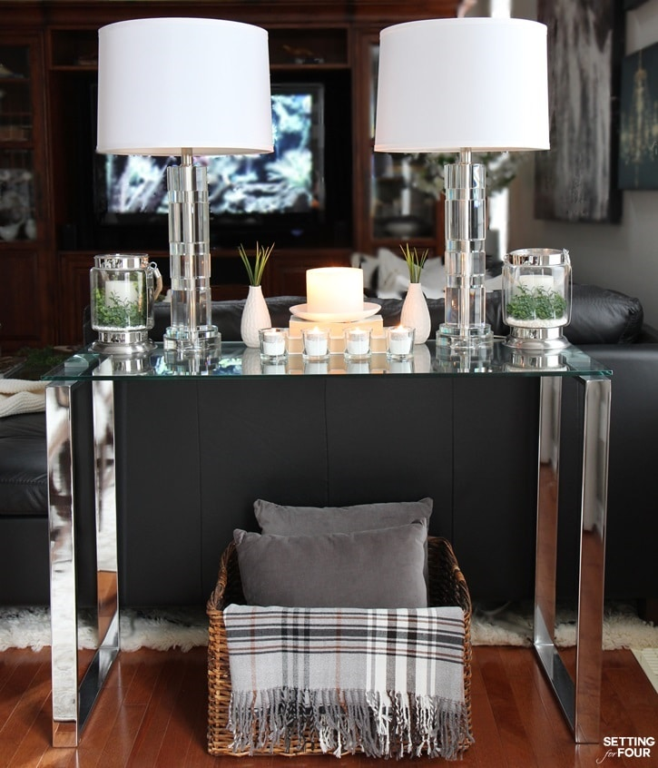 5 tips to decorate accent tables like a pro setting for for Console table decor ideas