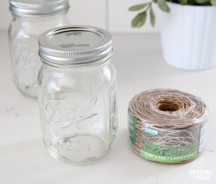 DIY Mason Jar Hangers