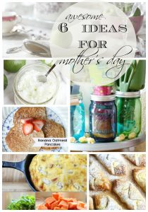 DIY Mother's Day ideas! Recipes, table setting ideas and DIY gift tutorials!