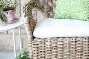 DIY waterproof, stain resistant fabric