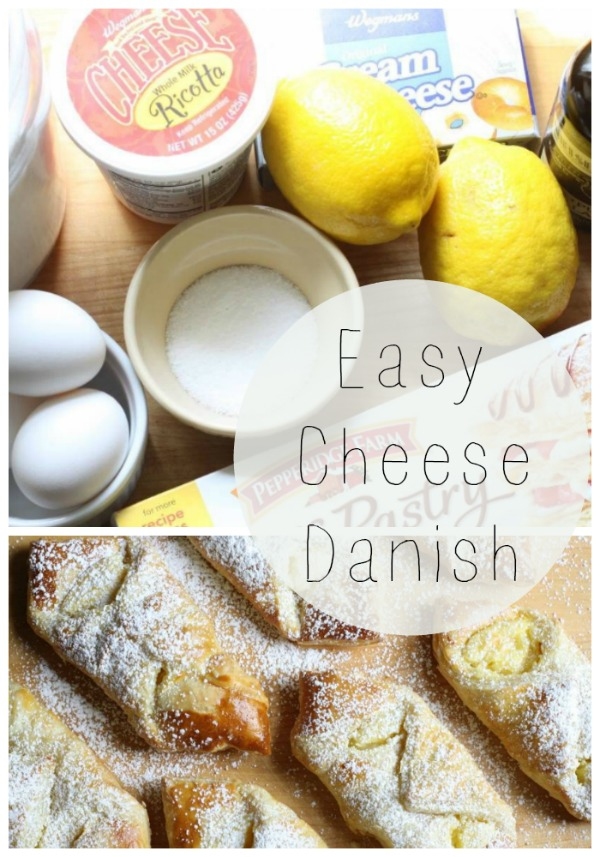 No fuss dessert - easy cheese danish!