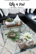 Do you have a console table, coffee table or end table that needs a little decorating style? See these 5 winning tips to decorate accent tables like a Pro at www.settingforfour.com