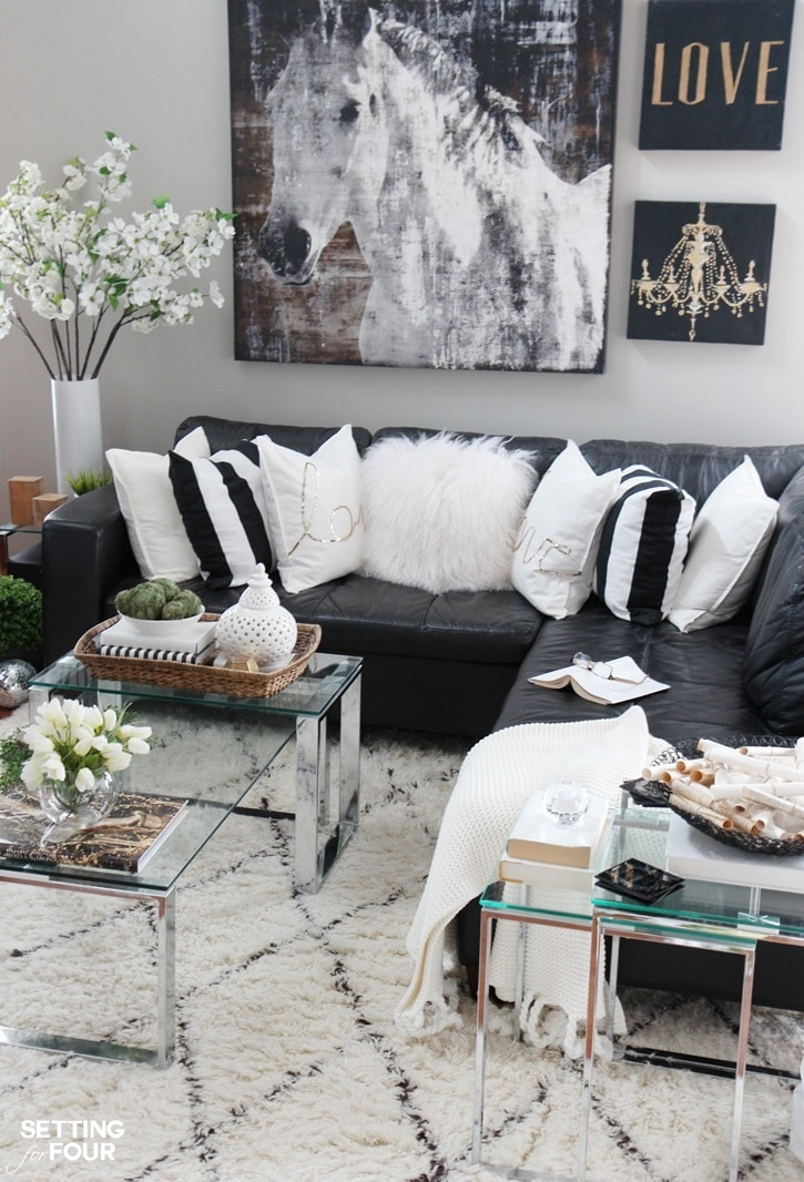 Decorate Living Room With One Window: 5 TIPS TO DECORATE ACCENT TABLES LIKE A PRO!