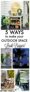 How to Make Your Small Outdoor Space Look Bigger