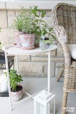 DIY White Washed Terra Cotta Pots