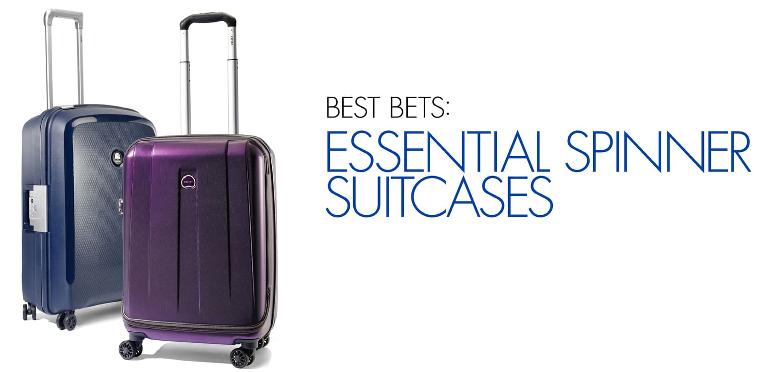 Get the Best spinner suitcases