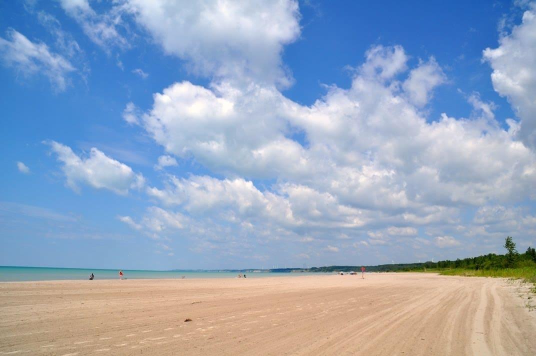 Lake Erie beach
