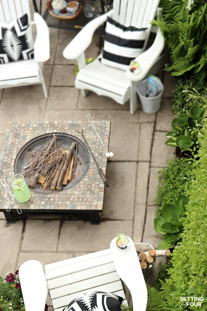 Outdoor seating ideas for the home.