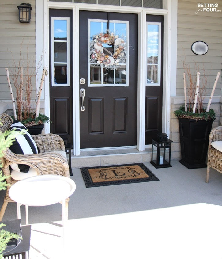 Summer front porch decorating ideas.