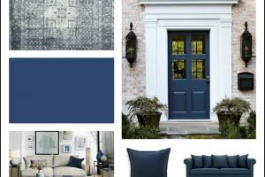 10 amazing ways to add color trend Indigo Blue to your home: 10 Paint color ideas and home decor ideas that will update your space. Such a stylish, timeless and comfortable blue color!