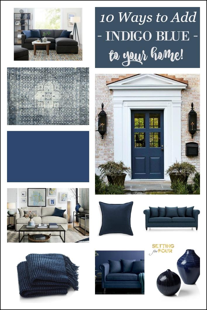 indigo blue 10 amazing ways to add this color to your indigo home decor marceladick com