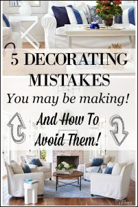5 Decorating Mistakes That Make Your Home Look Cluttered