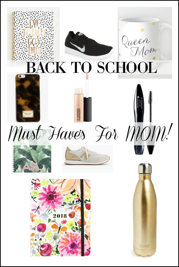 Back to School Mom MUST HAVE Items! See all the fashion and organization essentials an on-the-go Mom needs to tackle another busy school year!