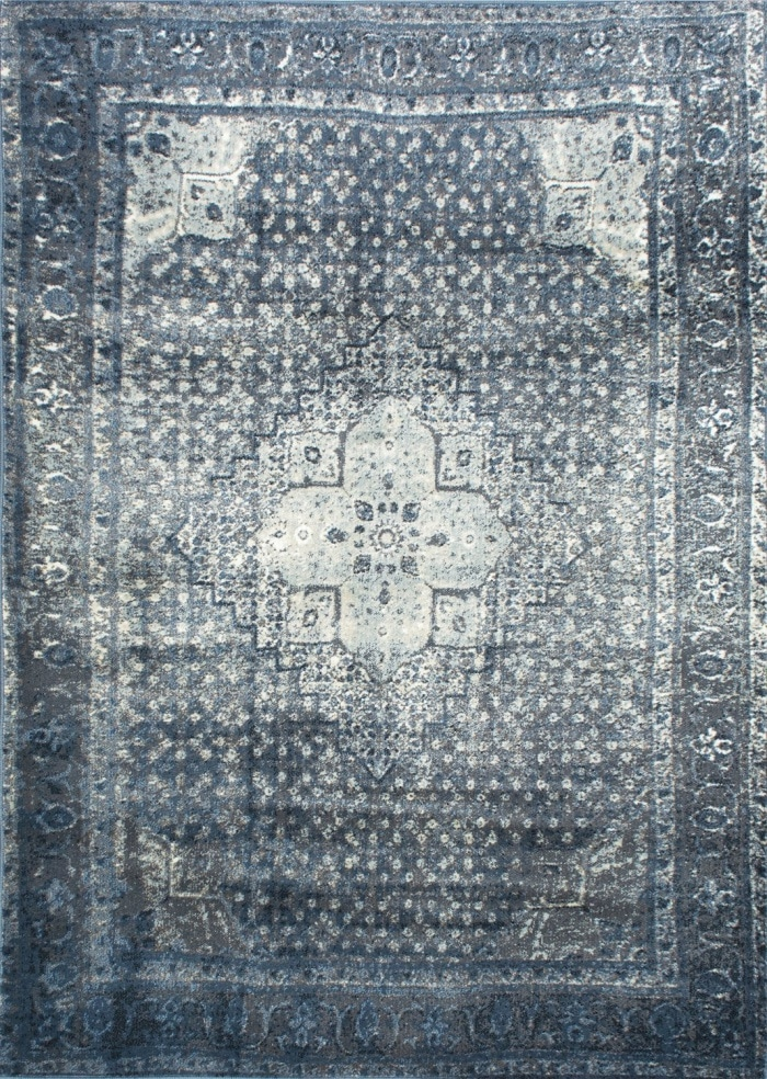 Indigo Blue Area Rug - I'm SMITTEN with this area rug! I'm seriously thinking of getting it for our living room!