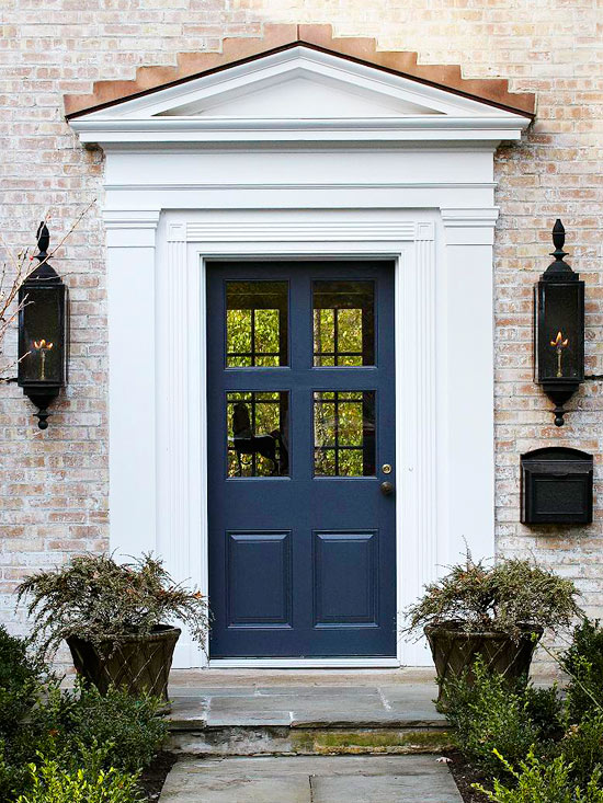 Indigo blue 10 amazing ways to add this color to your - House with blue door ...