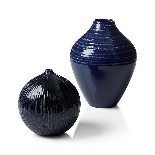 Ceramic Vase - add one or two to a bookcase, kitchen open shelving, mantel, end table.