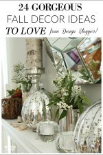 24 GORGEOUS Fall Decor Ideas to LOVE from Design Bloggers!