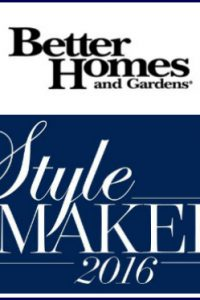 I'm a Better Homes and Gardens Stylemaker!