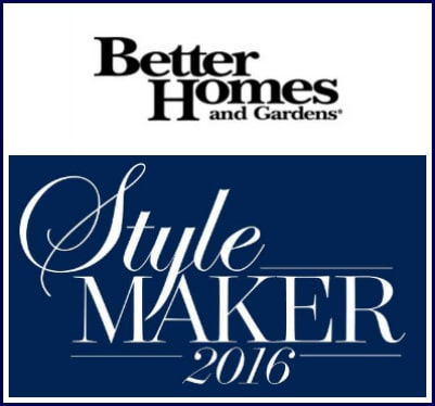 I'm a Better Homes and Gardens Style Maker! Heather at SettingforFour.com