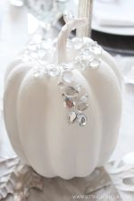 Easy Bling Pumpkin DIY for Fall and Halloween