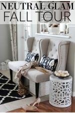 Neutral Glam Fall Tour and Fall Decor Ideas