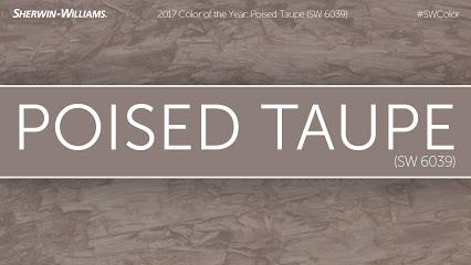 Poised Taupe the newest, gorgeous greige paint for 2017! See it here!