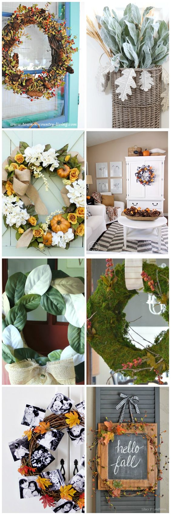 7 Fabulous Hair Magazines You Ve Got To Flip Through Hair: 7 Fabulous Fall Wreath Ideas For Your Home