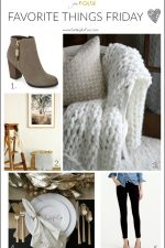 See my Favorite Things Friday list - decor, fashion and DIY projects that I love!