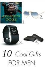Stumped for a gift idea for the guy in your life? They are so hard to shop for aren't they? Check out this 10 Cool gift ideas for men list for 10 amazing gifts he'll love and actually use!