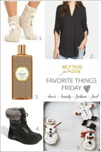 Favorite Things Friday! Fashion, Beauty & Food