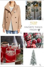 Favorite Things Friday – on Thursday!