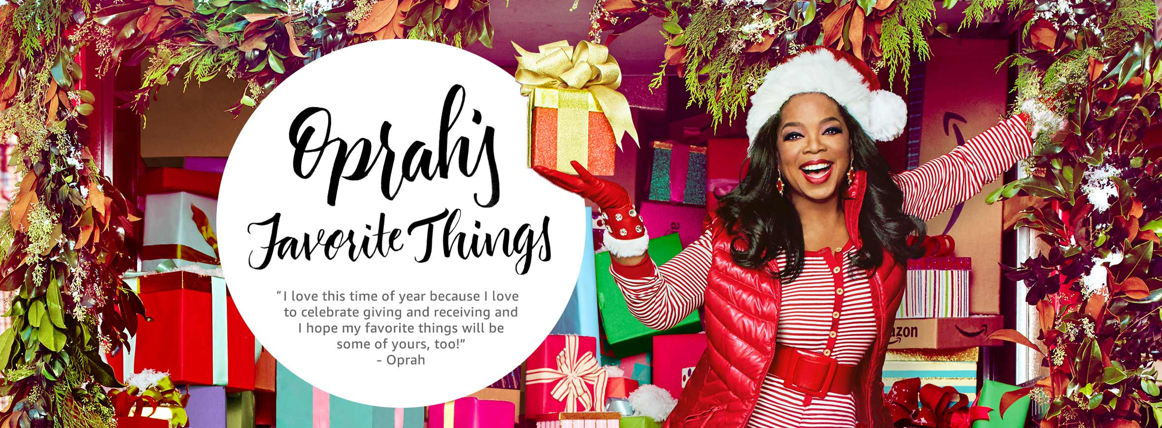 Oprah's Favorite Things List for 2016! A great source for gift ideas....and things you might need too!