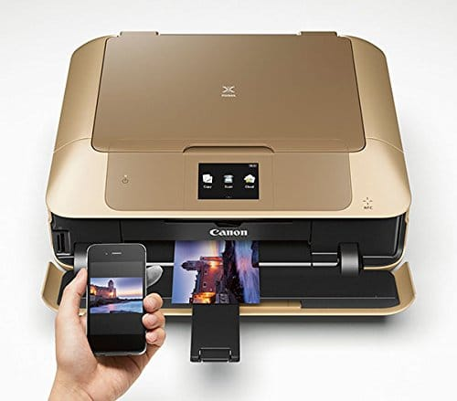 Gold Printer/Scanner - I sooooo want one of these myself!! Seriously....a gold printer is a printer of my dreams!