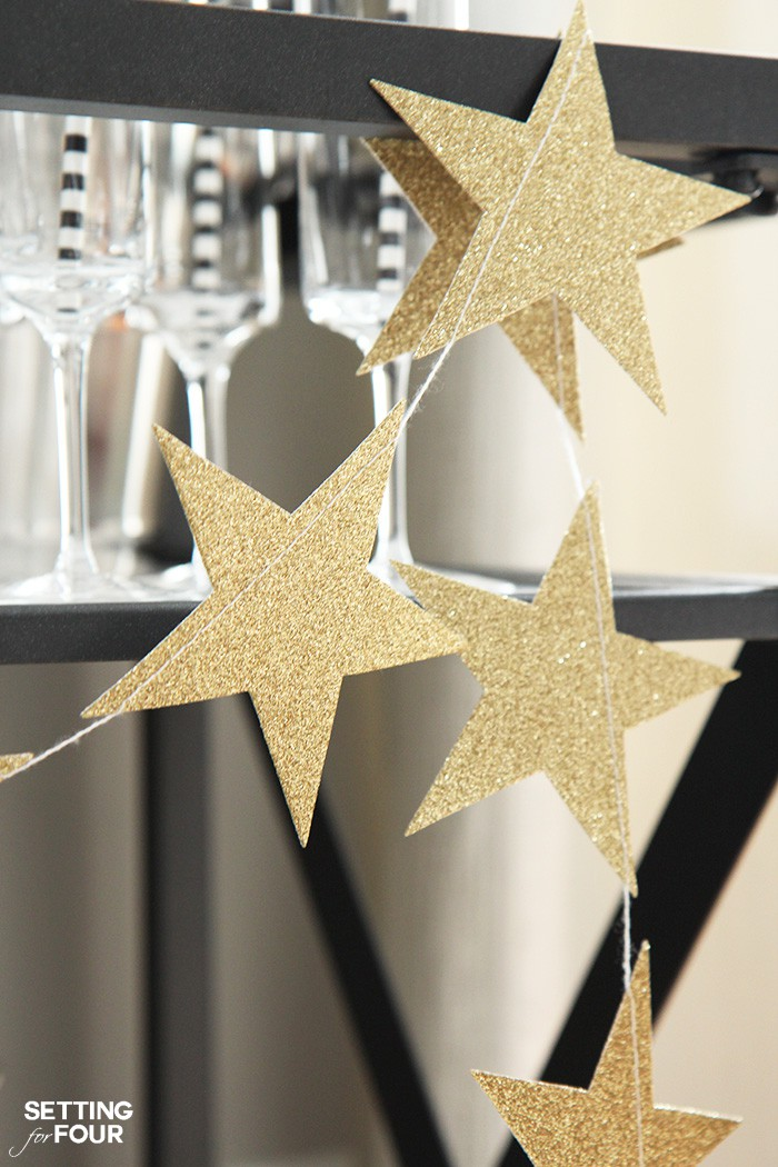 Looking for ways to style your bar cart for Christmas? See my 8 decorating tips on How To Style A Bar Cart For The holidays! Including ideas for bar ware, glassware, alcoholic and non alcoholic beverages and decor too!
