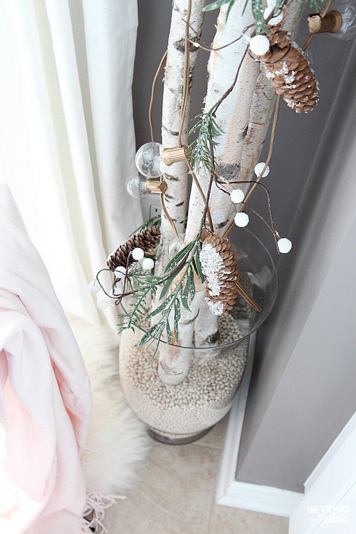 10 Minute Winter Diy Decorating Birch Branches Idea