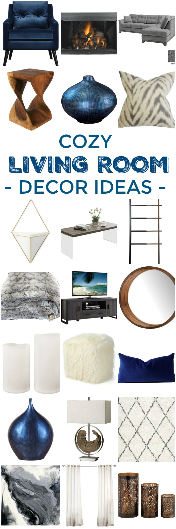 6 decor tips how to create a cozy living room setting for Cozy family room decorating ideas