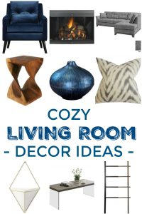 How to Create A Cozy Living Room! Create a cozy, inviting space in the living room of your dreams with these 6 decorating tips!