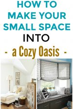 How to Create 5 Cozy Small Spaces That Are Warm And Homey! Learn how to turn any small corner or nook in your home into a cozy little oasis.