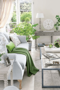 How to Decorate With Pantone Color Of The Year Greenery!