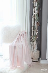 10 Minute Winter Decorating with Birch Poles