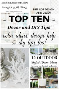 Top Ten Decorating & DIY Tips of 2016